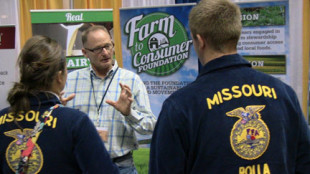 Tim Wightman and FFA Studens from Missouri
